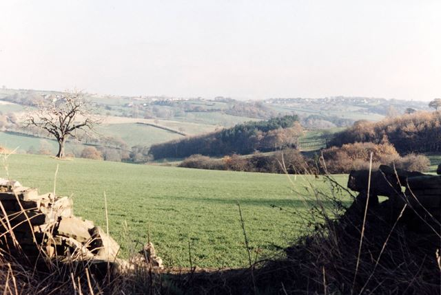 View from Moss Valley to Mosborough