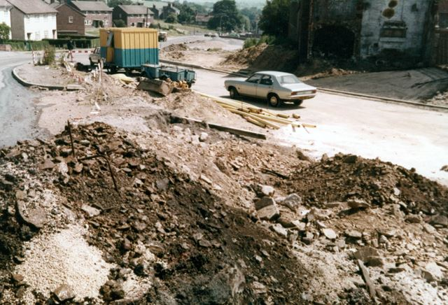 The construction of the Eckington By-pass