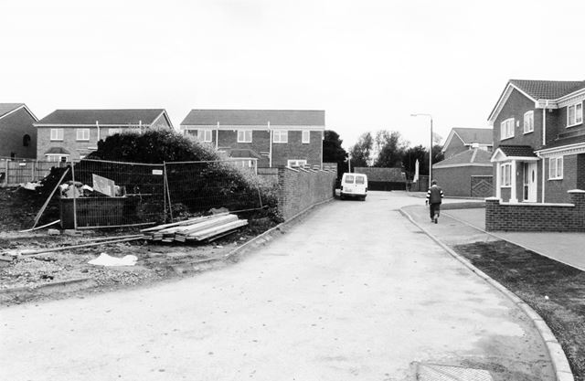 Construction of Glebe Gardens, North Wingfield
