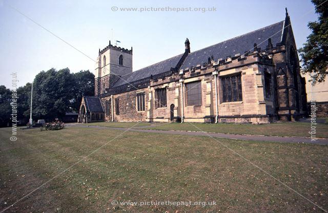 St. John The Baptist Parish Church, Church Street, Staveley, c 1960s