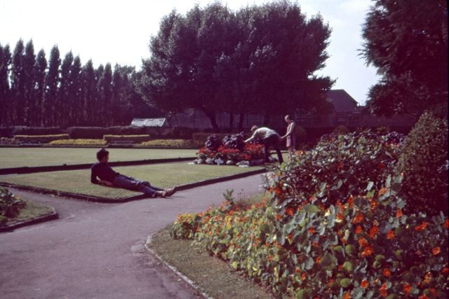 Garden of Rememberance, off Lowgates, Staveley, c 1970s