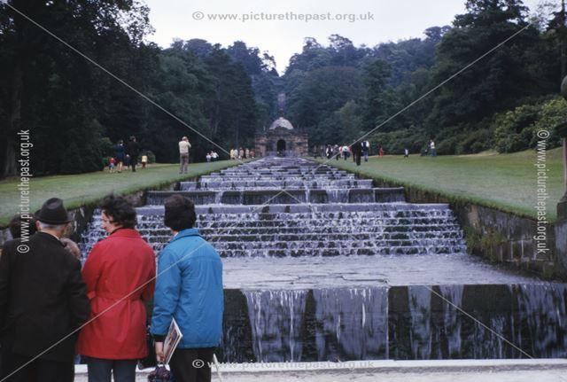 Cascade, Chatsworth House, c 1973