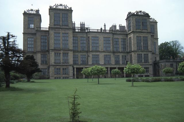 East Front, Hardwick Hall, c 1986