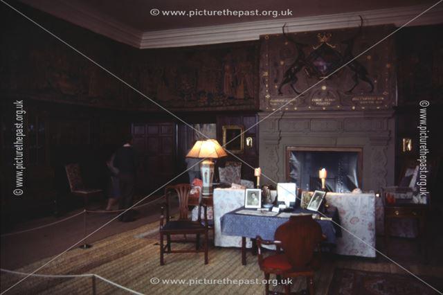 Drawing Room, Hardwick Hall, c 1986