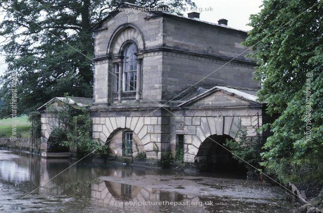 Boathouse, Kedleston Hall, c 1987