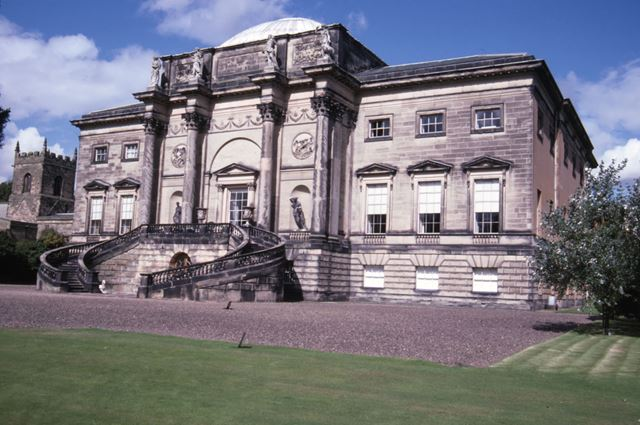 South Front, Kedleston Hall, c 1987