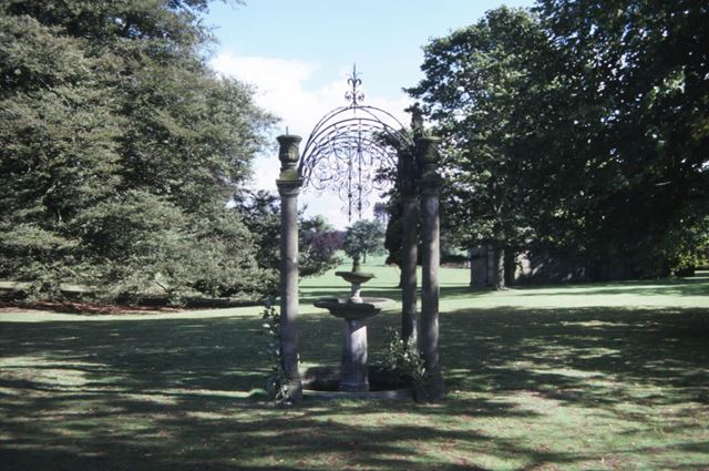 Fountain, Kedleston Hall, c 1987