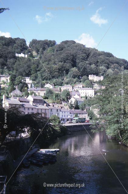River Derwent, Matlock Bath, c 1987