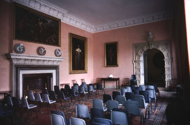 Great Hall, Sudbury Hall, c 1987