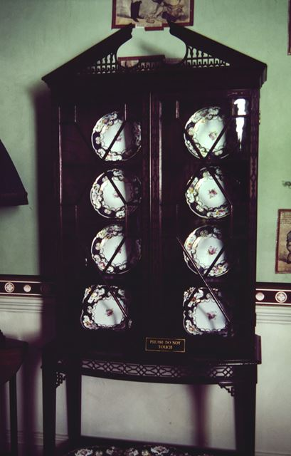Display Cabinet, Calke Abbey, c 1995
