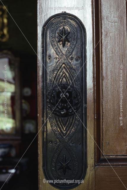 Door Plate, Calke Abbey, c 1995