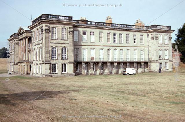 East Front, Calke Abbey, c 1996