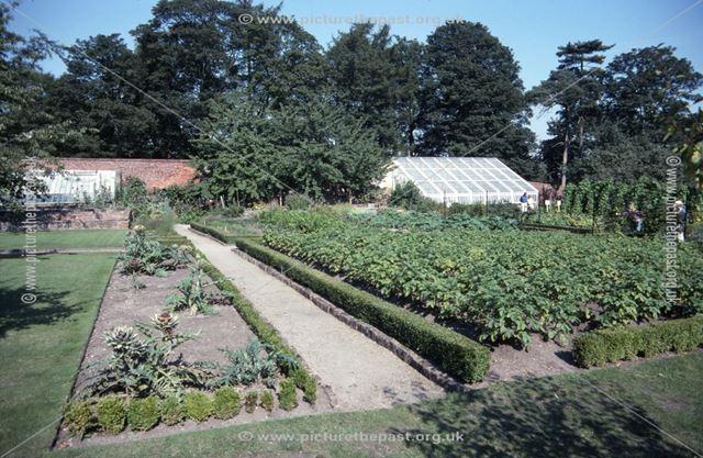 Vegetable Garden, Calke Abbey, c 1996