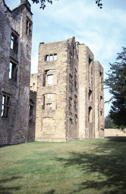 Ruins of Old Hall, Hardwick Hall, c 2000