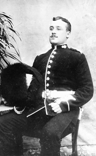 Jim Draycott, Grenadier Guards, c 1918