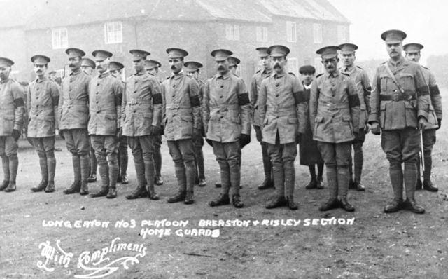 Long Eaton No.3 Platoon - Breaston and Risley Section 'Home Guards'
