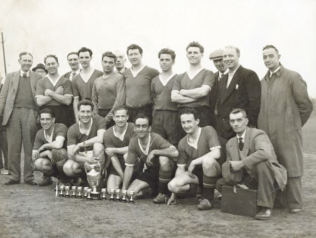 Holymoorside Sports Football Club, Holymoorside, 1959-60