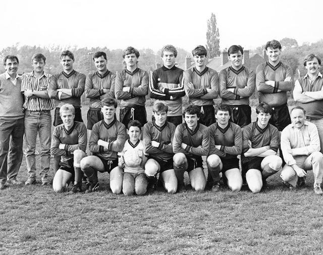 Holymoorside Football Club, Holymoorside, 1986