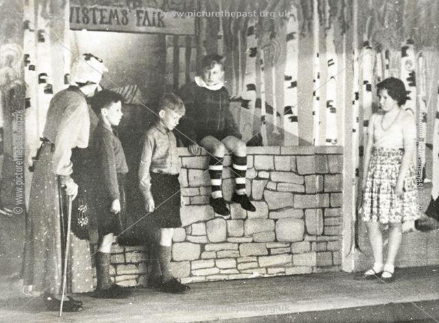 Congregational Church Performance, Holymoorside, c 1955 ?