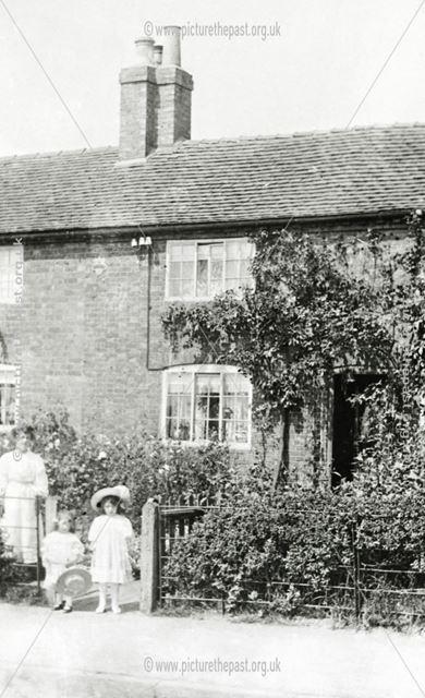 Cottage on Draycott Road, Breaston, c 1900s