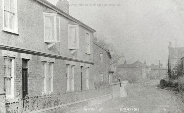 Draycott Road, Breaston, c 1910 ?