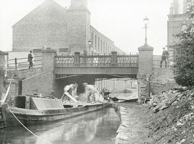 Erewash Canal, Derby Road, Long Eaton, c 1905 ?