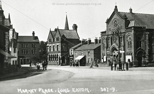 Market Place, Long Eaton, c 1910 ?