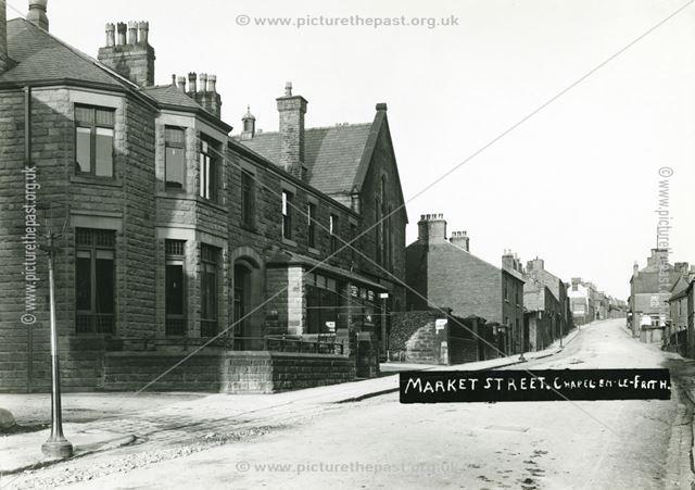Market Street, Chapel en le Frith, c 1910 ?