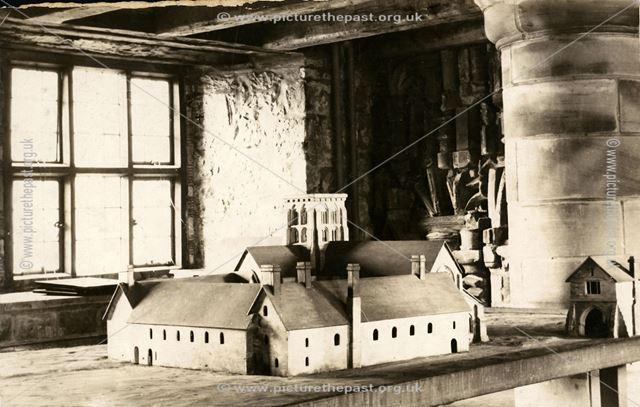 Model of Repton Priory