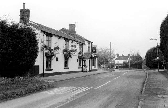The Square and Compass Public House, Linton