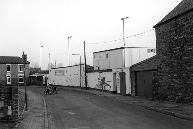 Gresley Rovers Football Club Ground, Moat Street, Church Gresley, 2002