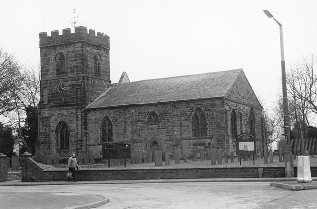 Church of St George and St Mary, Church Street, Church Gresley, 2002