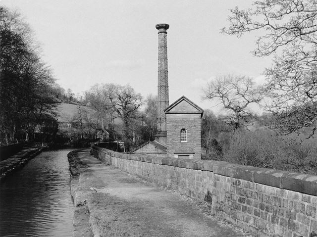 The Cromford canal and Leawood pumping station