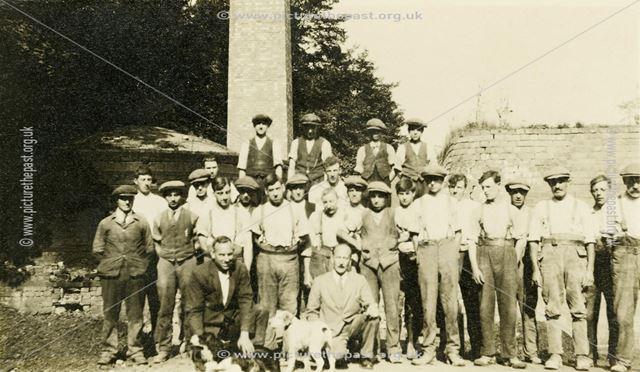 The Staff at Chellaston Brick Works