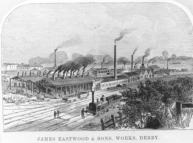 James Eastwood and Sons, Cotton Lane, Derby