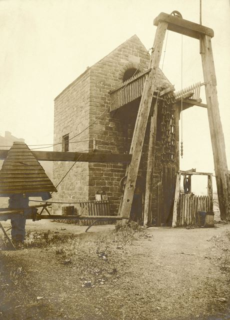 Pentrich Colliery, Beam Engine