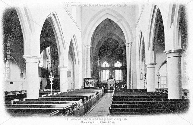 All Saints Church, Interior, Bakewell