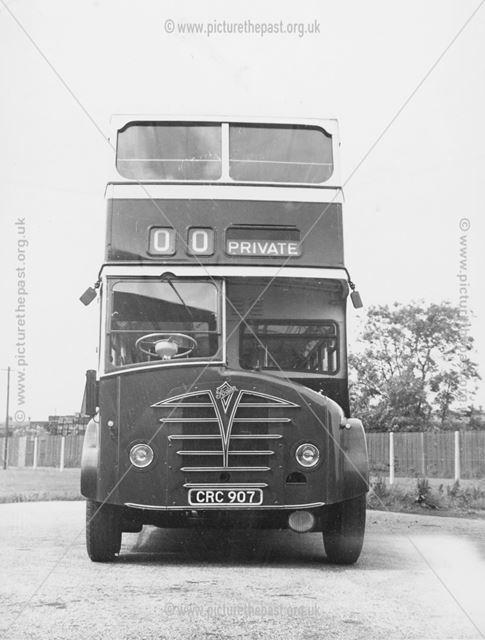 Derby Corporation motor bus No.107