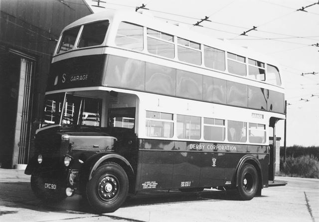Derby Corporation motor bus No.101