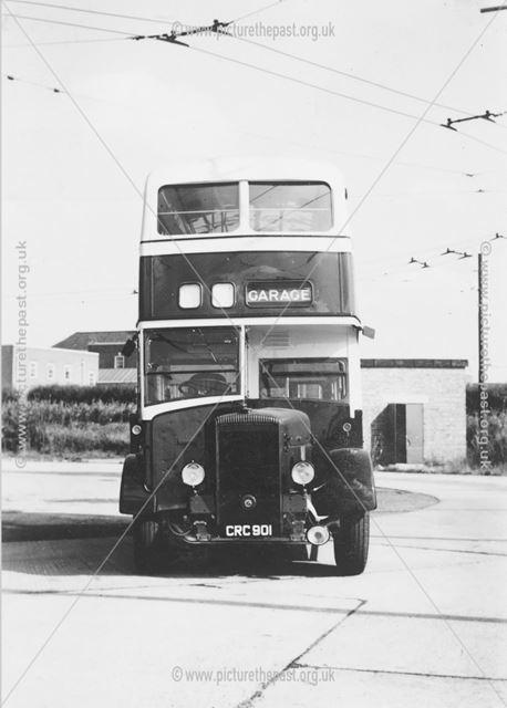 Derby Corporation motor bus No.101