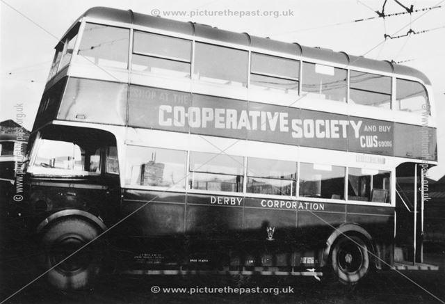 Derby Corporation Motor Bus No. 21