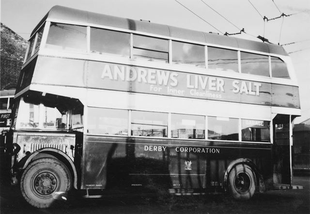 Derby Corporation Motor Bus No. 1