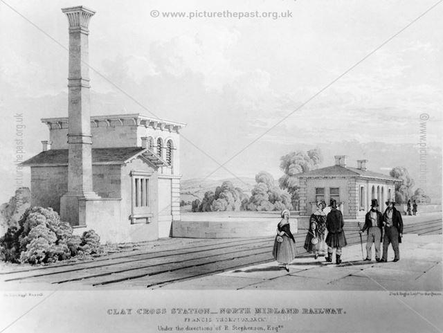 Original North Midland Railway station