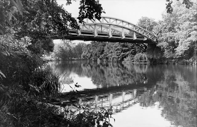 Former railway bridge over River Derwent