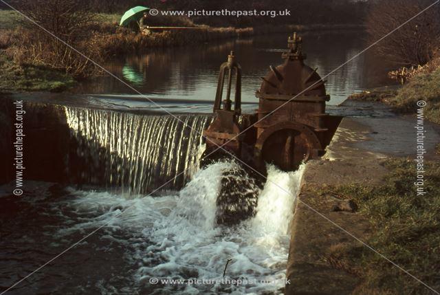 Nutbrook Canal, Little Hallam, Ilkeston, 1967