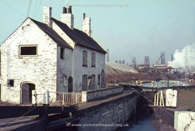 Whitehouse Lock, Erewash Grand Union Canal, Stanton Gate, 1967