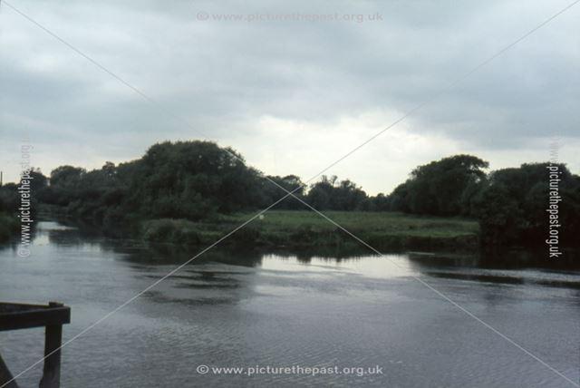 Derwent Mouth, River Derwent, near Great Wilne, 1966