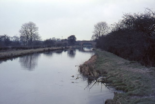 High Bridge?, Trent and Mersey Canal, nr Egginton, 1965