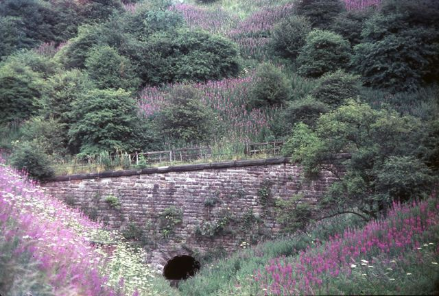 Butterley Tunnel, Cromford Canal, Hammersmith, near Pentrich, 1966