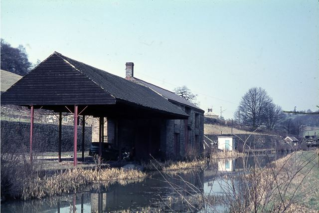 Wharf Shed, High Peak Junction, Cromford Canal, Lea, Cromford, 1965